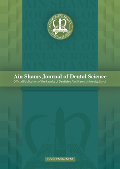 Ain Shams Journal of Dental Science